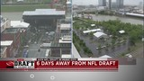 Tourists surprised to hear NFL Draft in Nashville.