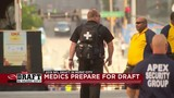 Medical personnel prepared to take on thousands at NFL Draft