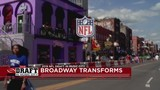 #DraftOn2: Broadway's huge transformation for NFL Draft
