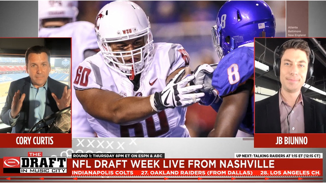 Watch Live: Getting you ready for tonight's NFL Draft!