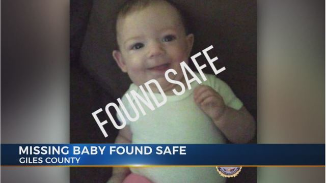 Giles county baby McKinlee Natress found safe; Mom arrested