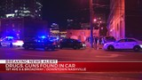 3 in custody after fleeing police in downtown Nashville