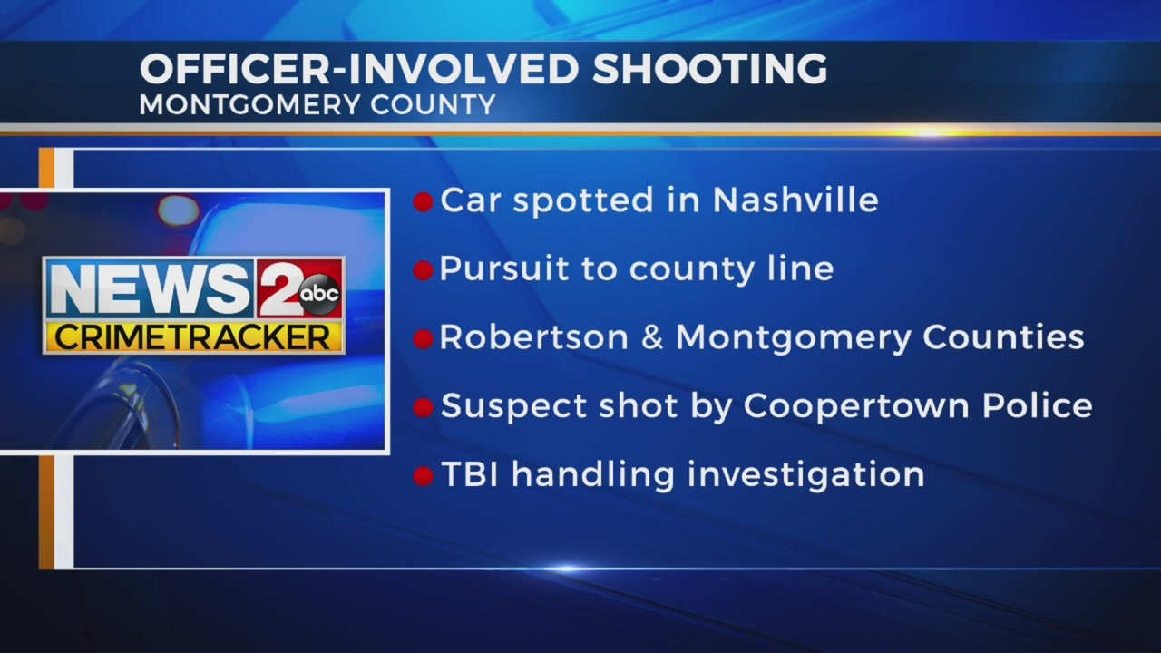 TBI investigating after man involved in multi-county chase shot by